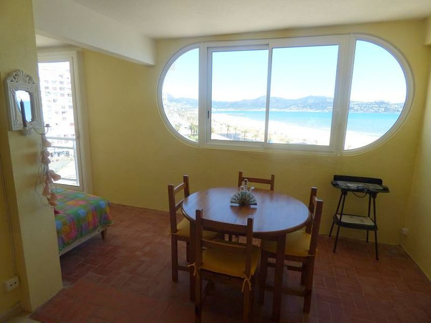 Nice apartment with garage and views to the bay of Roses