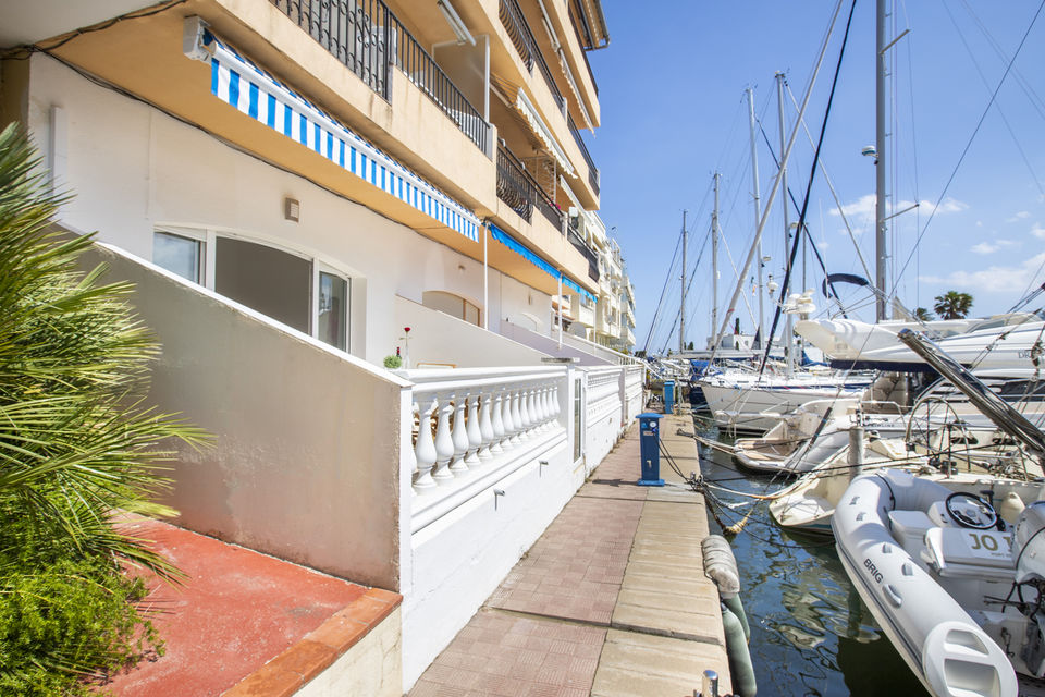 Apartment for rent in Empuriabrava with 1 bedroom